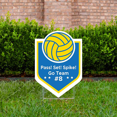 Volleyball_YardSign_Design 2_Blue&gold